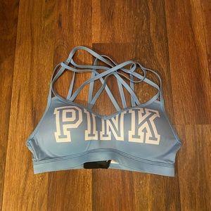 Victoria's Secret blue sports bra